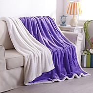 Coral fleece As per picture,Solid Solid Wool/Acrylic Blankets S:100*120cm M:150*200cm L:200*230cm