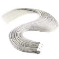 20 '' 20pcs nieuwe m-tape in human hair extensions 100% straight remy pu huid inslag