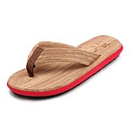 Γυναικεία παπούτσια-Παντόφλες & flip-flops-Ύπαιθρος Καθημερινό-Επίπεδο Τακούνι-Ανατομικό-Νάιλον-Μπλε Πράσινο Κόκκινο Άσπρο