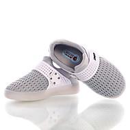 Sneakers-PU-Komfort-Drenge-Sort Blå Grøn Rød Grå-Fritid-Flad hæl