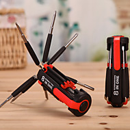 8 1 Six Eight Screwdriver Head Lamp With LED Light And Circadian Reinforced Multifunctional Combined Tool