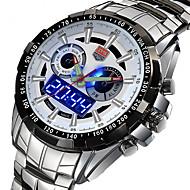 Men's Sport Watch Military Watch Dress Watch Fashion Watch Wrist watch Calendar Quartz Digital Alloy Band Vintage Charm Casual Black