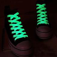 divat férfi női kigyullad vezetett cipőfűző fél izzó éjszakai futás cipőfűzők klub csúcspontja világító cipőfűző