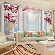 Art Deco 3D Behang voor thuis Klassiek Behangen , Canvas Materiaal lijm nodig Muurschildering , Kamer wandbekleding