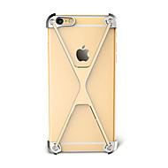 のために 耐衝撃 ケース バンパー ケース ソリッドカラー ハード アルミニウム のために Apple iPhone 7プラス iPhone 7 iPhone 6s Plus/6 Plus iPhone 6s/6