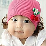 Dívky Zima Úplet Růžová Fialová Červená Čepice a kšiltovky