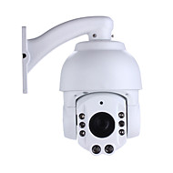 1.3 MP PTZ Buiten with IR-cut 32(Waterdicht Dag Nacht Dubbele stream Externe toegang IR-cut Wifi Protected Setup Plug & play)