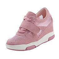 Parafa-Női-Sportcipők-Alkalmi-PU-Fehér Fekete Rózsaszín