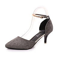 Women's Sandals Spring Fall Comfort PU Casual Flat Heel Others Black Gray Other