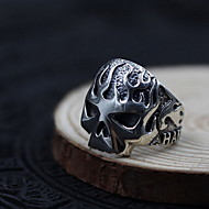 Prsten Šperky Stříbro Skull shape Stříbrná Šperky Denní Ležérní 1ks