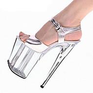 Sandály-PU-Pohodlné Novinky-Dámské-Stříbrná-Svatba Šaty Party-Vysoký Platformy