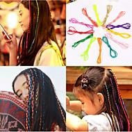Bandes de Cheveux Accessoires pour cheveux Polyester Perruques Accessoires Pour femme