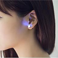 unikke design førte øreringe lys lys op bling ørestikker dans fest tilbehør til dans part bar pige
