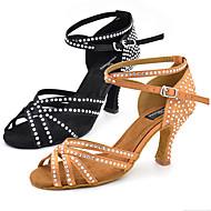 מותאם אישית-עקב מותאם-עור-לטיני ג'אז סלסה נעליי ריקוד סווינג-נשים