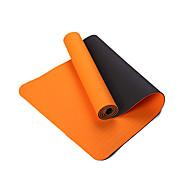 TPE Yoga Mats Eco Friendly Libre de Olores 10 mm Rosa Azul Verde Naranja Negro Other