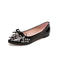 Women's Flats Spring Summer Fall Winter Club Shoes Comfort Ballerina Light Soles PU Office & Career Party & Evening Dress Flat Heel