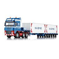 משאית צעצועים צעצועים רכב 01:50 פלסטיק מתכת ABS חום צעצוע בניה ודגם