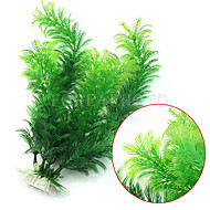 Akvariedekoration Vandplante Kunstig Plastik Grøn