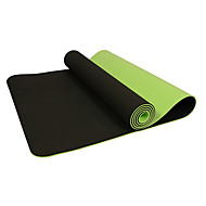 Yogamattor Miljövänlig Luktfri Tjock 6 mm Blå Grön Lila Other