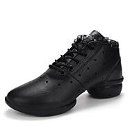 Sapatos de Dança(Preto Branco Preto branco) -Feminino-Não Personalizável-Tênis de Dança