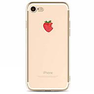 用途 iPhone X iPhone 8 iPhone 7 iPhone 6 iPhone 5ケース ケース カバー パターン バックカバー ケース 果物 ソフト TPU のために Apple iPhone X iPhone 8 Plus iPhone 8 iPhone
