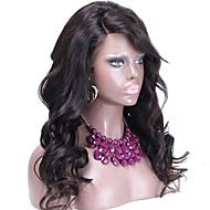 실크 톱 전체 레이스 여성 100 % 인간의 머리 실크 최고 레이스 가발에 대한 글루리스 전체 레이스 인도 머리 가발 가발