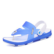 Men's Slippers & Flip-Flops Spring Summer Rubber Outdoor Casual Dark Blue Dark Grey Royal Blue