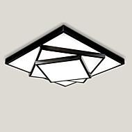52cm geometrisk mönsterdesign modern stil enkelhet ledde taklampa metall infällda armatur