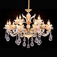 Lustres ,  Tradicional/Clássico Retro Dourado Característica for Cristal LED MetalSala de Estar Quarto Sala de Jantar Quarto de