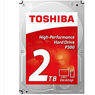 Toshiba 2TB Desktop Hard Disk Drive 7200rpm SATA 3.0 (6 Gb / s) 64MB Cache 3,5 tommer-HDWD120