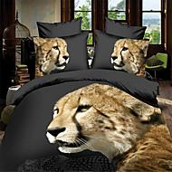 Животные 4 предмета Активный краситель 1 пододеяльник 2 декоративных чехла 1 Простынь