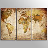canvas Set Impressão em tela sem moldura Tradicional,3 Painéis Tela Horizontal Impressão artística Decoração de Parede For Decoração para