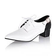Szpilki-Damskie-Comfort-Gruby obcas Block Heel--Derma-Biuro i biznes Casual