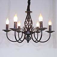 샹들리에 ,  클래식 / 전통 기타 특색 for 촛불 스타일 금속 거실 침실 주방 학습 방 / 사무실 키즈 룸