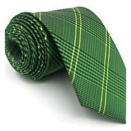 BXL19 Men Ties Green Geometric Fringe 100% Silk Business Fashion Wedding New For Men
