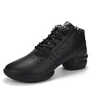 Na míru-Dámské-Taneční boty-Taneční tenisky-Kůže-Kačenka-Černá Bílá