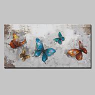 Ručně malované Zvíře Pop olejomalby,Moderní evropský styl Jeden panel Plátno Hang-malované olejomalba For Home dekorace