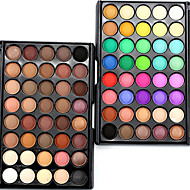 40Color/1Pcs Makeup Lots Glitter Matte Eyeshadow  Waterproof Bronzer Naked Palette Eye Shadow Nude Cosmetics