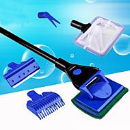 수족관 청소도구 조절 가능 플라스틱