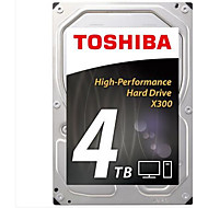 Toshiba 4TB Área de trabalho do disco rígido 7200 SATA 3.0 (6Gb / s) 128MB esconderijo 3.5 polegadas-HDWE140