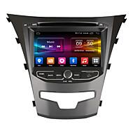 ownice 7 schermo HD 1024 * 600 quad core Android 6.0 la radio GPS per Ssangyong Actyon nuova Korando 2014 il supporto 4G LTE