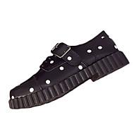 Žene Oksfordice Proljeće Ljeto Udobne cipele PU Formalne prilike Ležeran Ravna potpetica Vezanje Drugo Crna