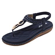 Dame-PU-Kilehæl-Komfort Lette såler-Sandaler-Kontor og arbeid Formell Fritid-