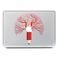 1 kpl Naarmunkestävä Playing with Apple Logo Läpinäkyvä muovi Tarrakalvo Kuviointi VartenMacBook Pro 15'' with Retina MacBook Pro 15 ''