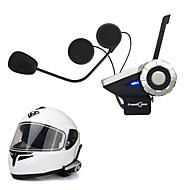 freedconn 1db T-Rex teljes duplex 1500m 8-irányú motorkerékpár csoport talk rendszer bt kaputelefon fm rádió vezeték bluetooth sisak