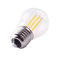 4W E27 LED filament žarulje G45 4 COB 360 lm Toplo bijelo Hladno bijelo Može se prigušiti Ukrasno AC 220-240 V 1 kom.