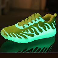 Unissex-Tênis-Conforto Inovador Shoe luminous-RasteiroCouro Ecológico-Ar-Livre Casual Para Esporte