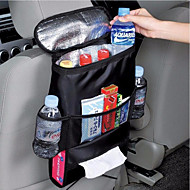 Universal Car kattaa istuimen järjestäjä eristetyt ruoka- varastosäiliöön kori pakkaamatta siistiminen pussit auto roikkuu säilytyspussin