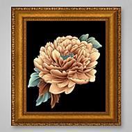 neue Kunsthandwerk Handarbeit 3d Diamant Malerei Päonienblüten Stich Kreuz Bild DIY Diamant Zeichnung Rhinestones Stickerei Kristalle