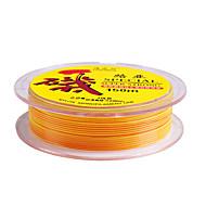 150M / 165 Yards Monofilament Fishing Line Yellow 80LB 1.5 mm For General Fishing
